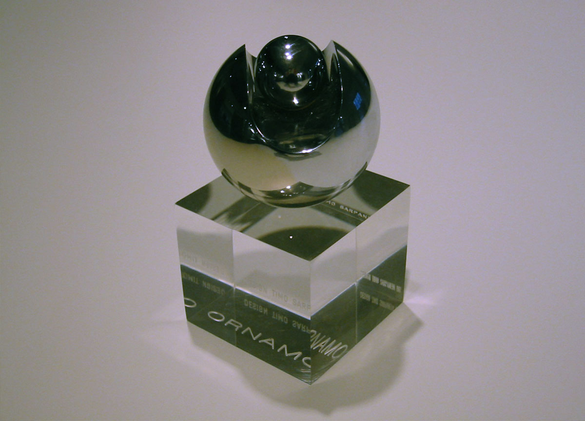 Ornamo Ball Honorary Prize 2001 to Vivero