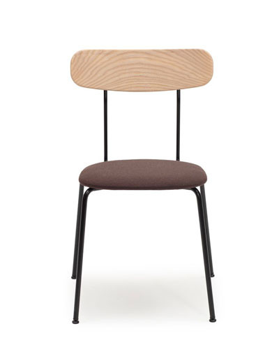 Tuttu-1/i chair, seat upholstered